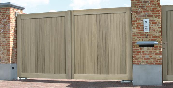 quel portail moderne pour jardin choisir exterior living. Black Bedroom Furniture Sets. Home Design Ideas
