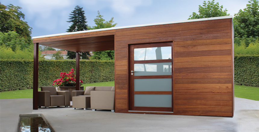 Quel abri de jardin en bois choisir exterior living - Quel bois pour abri de jardin ...