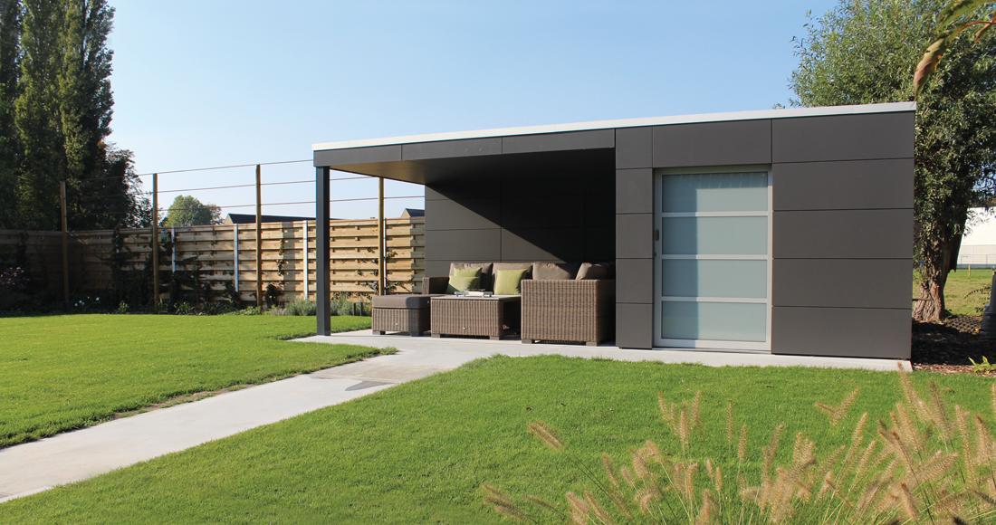 Wonderlijk Waar kan ik een modern tuinhuis vinden in strak design? – Exterior KT-68